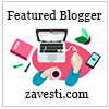 Zavesti Featured Blogger