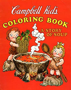 campbell kids coloring book