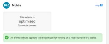 mobile optimized blog for beginners