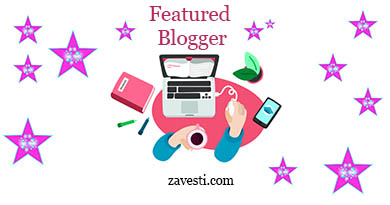 featured blogger zavesti