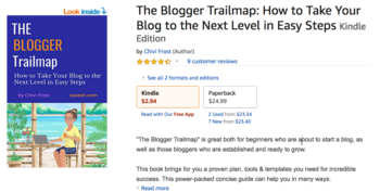 The Blogger Trailmap